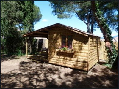 Location hébergement insolite : la cabane trappeur